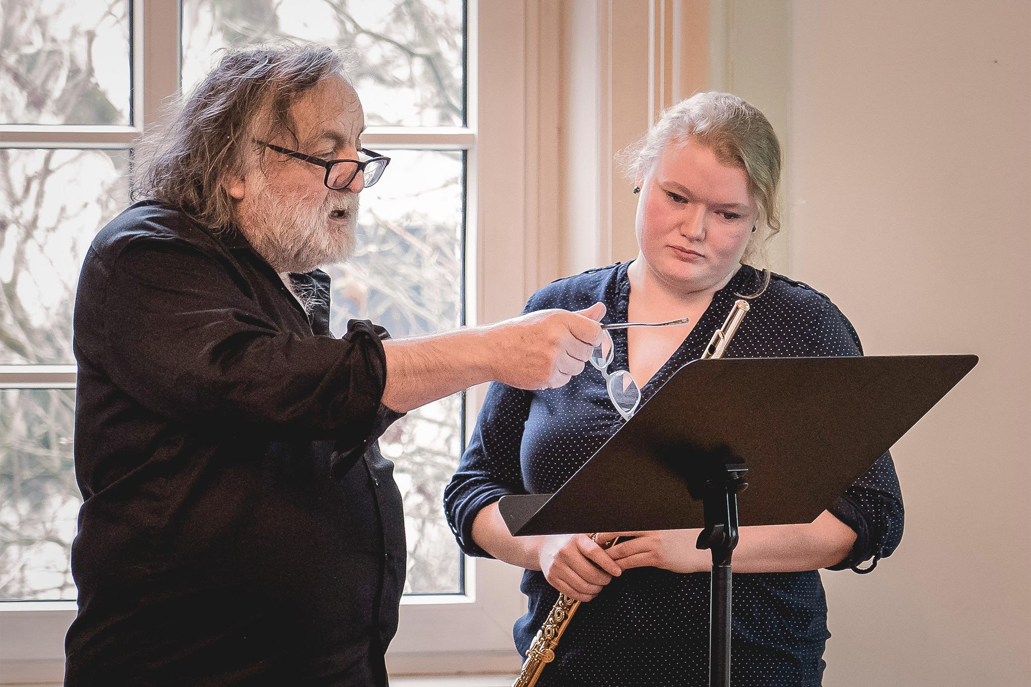 Der Komponist Brian Ferneyhough ist erster Stiftungsgastprofessor