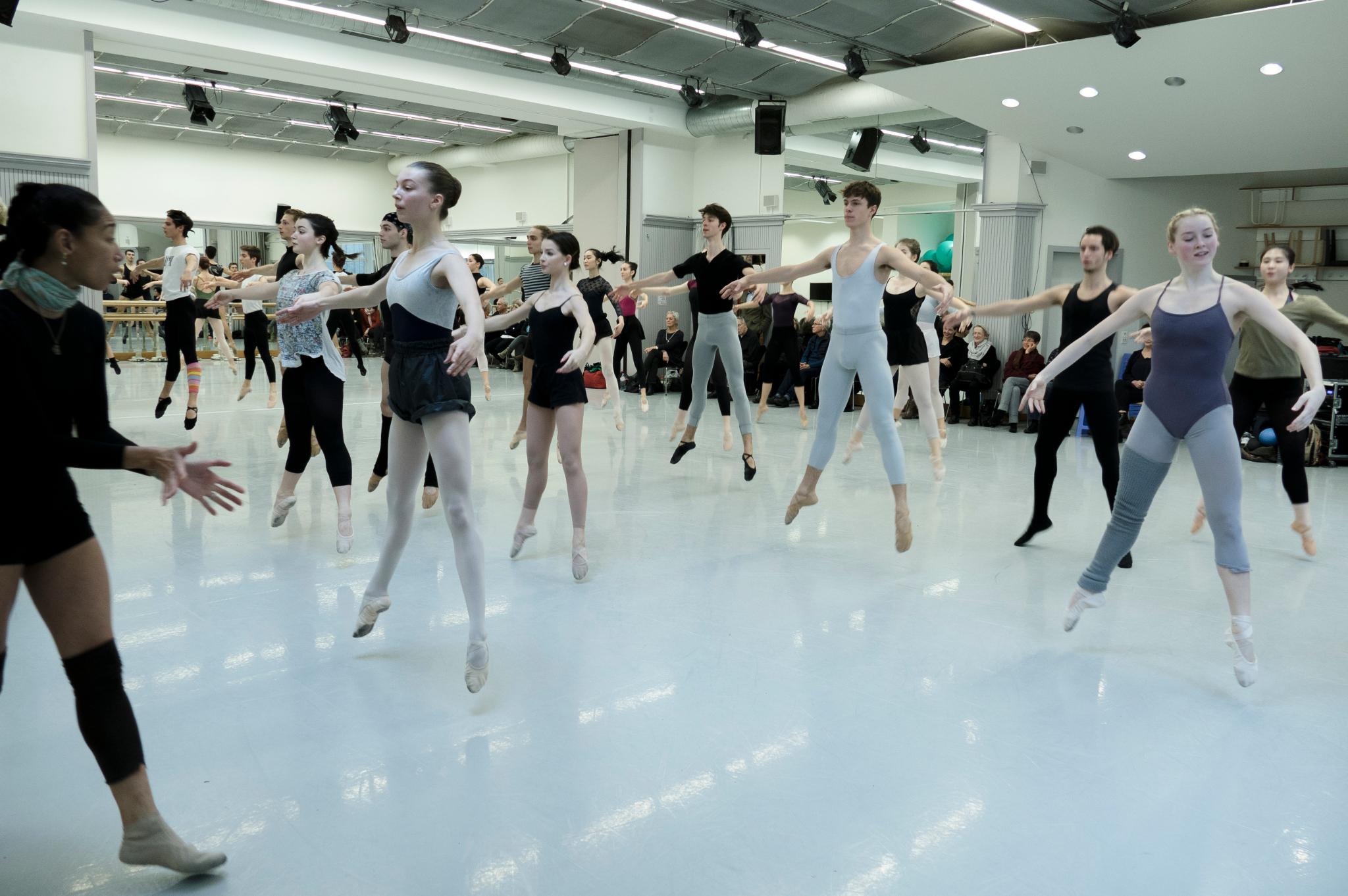 Tanztraining in der HfMDK