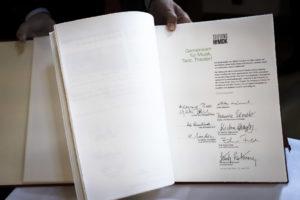 HfMDK-Stiftung im Goldenen Buch der Stiftungen