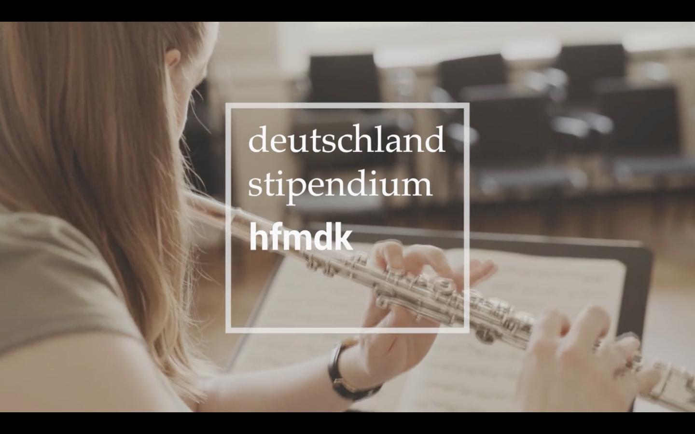 Deutschlandstipendium HfMDK- Film